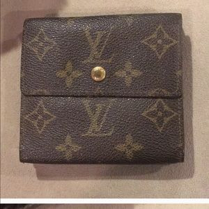 Louis Vuitton monogram snap wallet